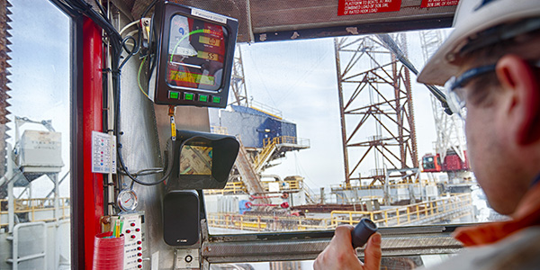 Rolloos offshore crane camera system